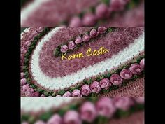 Brinco de Princesa vs Caminho de Margaridas - YouTube Crochet Diagram, Crochet Patterns, Manta Crochet, Crochet Purses, Crochet Videos, Crochet Home, Table Covers, Crochet Flowers, Doilies