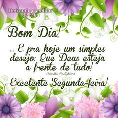 MENSAGEM DE BOM DIA - #bomdia #mensagem #frase #frases #mensagens #poemas #boasemana #segunda #segundafeira Messages, Happy, Instagram, Portal, Cute Good Morning Messages, Good Morning Photos, Good Morning Images, Good Morning Happy Monday, Verses