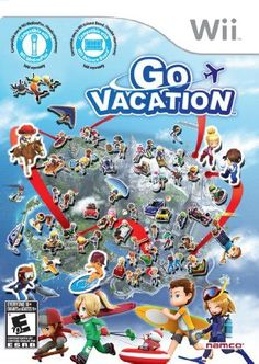 Go Vacation - Nintendo Wii: The Ultimate Family Vacation Destination! Vacation Games, Family Vacation Spots, Family Vacation Destinations, Vacation Ideas, Nintendo Ds, Nintendo Switch, Wii U, Wii Motion Plus, Ever After High Games