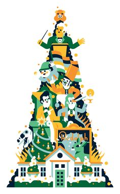 Atlanta Magazine - 10 Atlanta Holiday Traditions on Behance