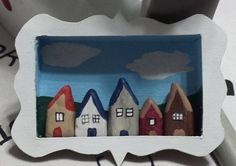five little clay houses by Smeddley