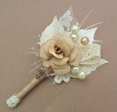 flor de lapela padrinhos