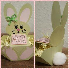 Easter Bunny Basket Craftsbymeli@gmail.com