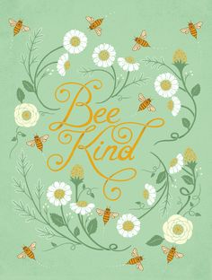 Bee Kind — created for HelpInk