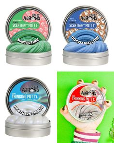 Our 10 best gifts for tweens from small businesses: Crazy Aarons new holiday Thinking Putty tins | Small Business Holiday Gift Guide  gifts for tweens | gifts for 10 year olds | gifts for 11 year old | gifts for 12 year old | cool gifts for kids | holiday gift guide   #holidaygifts #tweens #giftsforkids
