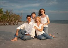 Family Of 4 Photo Poses | Hester Photography - Fort Myers Beach, Lee Photographer - specialising ...