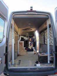 Image result for how to build a van conversion hammock bed front seats