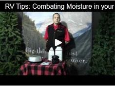 RV Tips: Combating Moisture in your RV Rv Videos, Van Living, Rv Hacks, Tourism, Moisturizer, Rv Remodeling, Rv Tips, Camping, Car