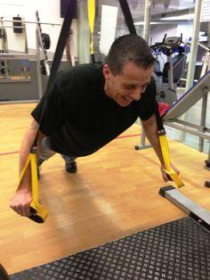 TRX Workout.