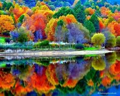 Autumn Reflections from Wonderful Places In The World