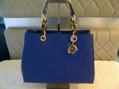 #michaelkors #cynthia #bluesapphire #readystock #newarrival #cheermeupdeboutique  Michael Kors Cynthia  Blue sapphire