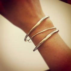 2 everyday bangles and a skinny