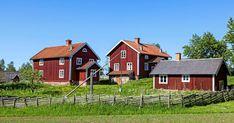 Homestead House, Scandinavian Home, Old Houses, Future House, Homesteading, Countryside, Sweet Home, Villa, Farmhouse