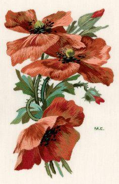 Рисовать не умею, поэтому для вышивок часто использую картинки со старинных открыток. Для вышивания рисовальной гладью очень подходят рисунки К.Кляйн.…