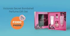 Feel sexy and confident with Victoria's Secret Bombshell perfume gift set! With the top notes in grapefruit and purple passion, Bombshell will give you that fresh-out-of-shower smell while its floral middle notes of peony and vanilla orchid infuses it wit Vanilla Orchid, Perfume Gift Sets, Smell Good, Bombshells, Body Lotion, Supreme, Victoria Secret, Feelings, Sexy
