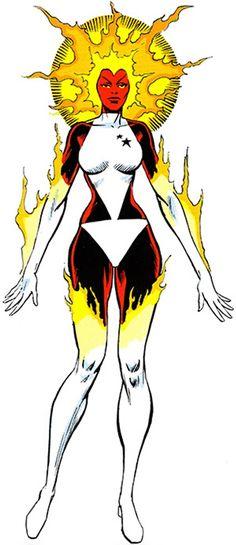 Ms. Marvel - Marvel Comics - Binary - Older profile