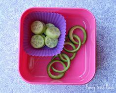 Fun idea for cucumbers