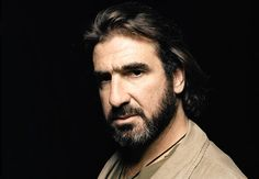 Eric Cantona, one of the greatest Manchester United players of all time.