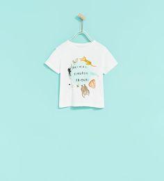 ANIMAL KINGDOM PRINT T-SHIRT-View all-T-SHIRTS-BABY BOY | 3 months - 4 years-KIDS | ZARA United States