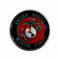 Marine Corps Snap Charm 20mm For Snap Charm Jewelry