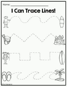 {summer practice pack On My Way to K! Fun summer practice for incoming Kinders! Fun summer practice for incoming Kinders! Preschool Writing, Preschool Lessons, Preschool Classroom, Preschool Learning, Fun Learning, Learning Spanish, Preschool Age, Pre K Worksheets, Kindergarten Worksheets