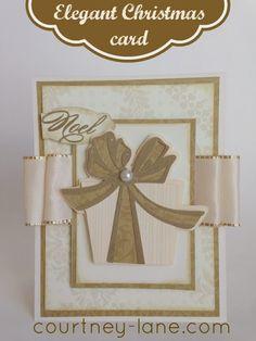 Anna Griffin Elegant Christmas Card
