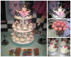79cbabc230f46 Sock Hop 50'S Theme diner Birthday Party Ideas | Photo 1 of 21 | Catch My