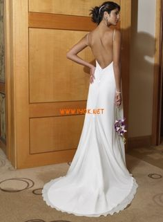 Exotic Beach Wedding Dresses | Backless Tropical Beach Wedding Dresses 2011