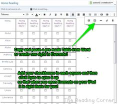 Assessment with Evernote