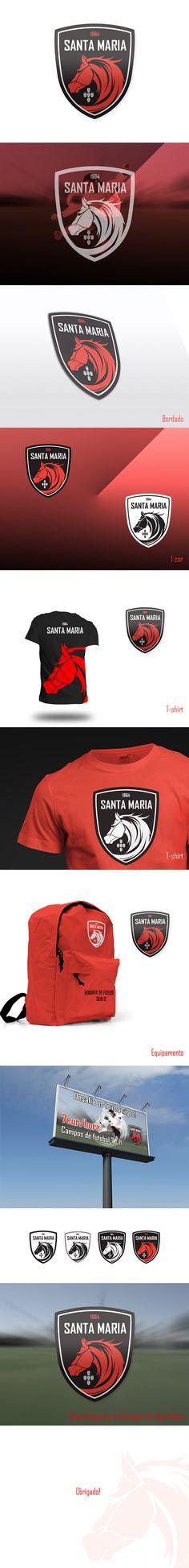 Novo emblema | Santa Maria by Mário Nascimento, via Behance