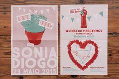 Convite-cartaz // Wedding invtation-poster