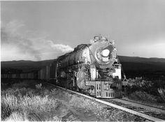 NdeM Niagara 3028 and helper near National Railways, Rolling Stock, Steam Locomotive, Vietnam War, Twilight, Train, Trains, Parking Lot, Fotografia