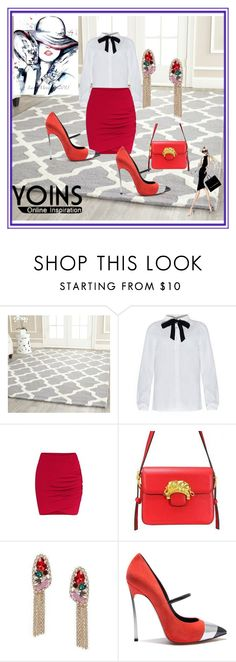 """""""Yoins contest"""" by dinka1-749 ❤ liked on Polyvore featuring Safavieh, Casadei, Retrò and yoins"""