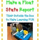 Your students will be completely engaged in this Parade FLOAT STATE report! This is the perfect activity to compliment your already assigned state ...