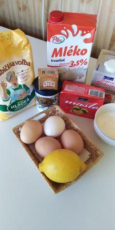 Sladké venčeky a rožky z kysnutého cesta (fotorecept) - obrázok 1 Eggs, Breakfast, Food, Basket, Morning Coffee, Essen, Egg, Meals, Yemek