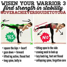 Strengthen your Warrior 3!