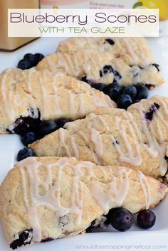 Blueberry Scones wit