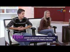 Márcia Fernandes - Visita família que sofre com encosto - Manhã Maior - ...