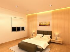 Plain Stylish Modern Bedroom