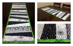 'Scrap'tastic Table Runner - So You Think You're Crafty