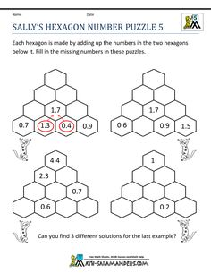 19 Best Fifth Grade Math Puzzles images | Maths puzzles ...