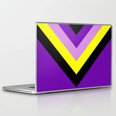 V-lines Laptop Skin by RobozCapoz - $30.00
