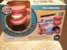 Aww-Smart-Fun-And-Educational-Dentistry-Deluxe-Set-Toy-Learn-Teeth-Dentist-Model