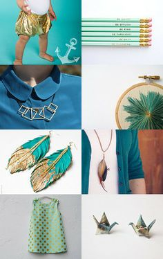 Golden Parts by noa luria on Etsy--Pinned with TreasuryPin.com