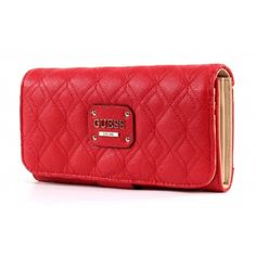 Guess Izabella File Clutch lipstick 2015 collection by Neola Apparel Guess Jeans, Clutches, Zip Around Wallet, Lipstick, Accessories, Collection, Style, Fashion, Swag