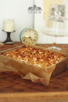 Sweet Recipes, Cake Recipes, Tasty, Yummy Food, Sweets Cake, Polish Recipes, Pumpkin Cheesecake, Healthy Sweets, Cake Cookies