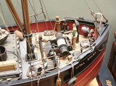 Clyde puffer (1/4) [Форумы Balancer.Ru] Model Sailboats, Great Lakes Ships, Scale Model Ships, Fishing Vessel, Boat Projects, Boat Art, Military Modelling, Wooden Ship, Tug Boats