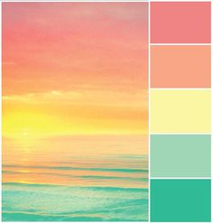in tagram feeds warna Sunset Color Palette, Pastel Colour Palette, Sunset Colors, Colour Pallette, Pastel Colors, Paint Colors, Colours, Color Schemes Colour Palettes, Color Combos