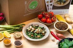 Garnish & Gather, HelloFresh, Home Chef, Plated, PeachDish and Blue Apron are the meal delivery services available for Atlantans.