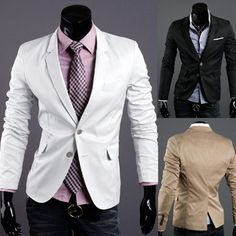 white blazer